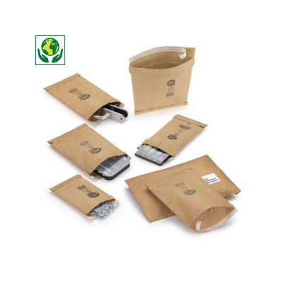 Pochette matelassée papier 65 % recyclé##Gewatteerde papieren envelop 65% gerecycleerd