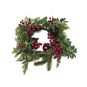 Ghirlanda natalizia, Diametro 30 cm