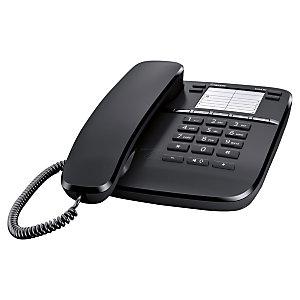 Gigaset DA410 Telefono a filo Colore Nero