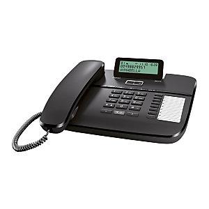 Gigaset DA710 Telefono a filo, Nero