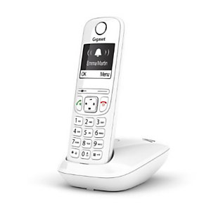 Gigaset, Telefonia fissa, Gigaset as690 white, S30852H2816K102