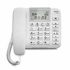 Gigaset, Telefonia fissa, Gigaset dl380 white, S30350S217K102