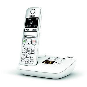 Gigaset Téléphone sans fil AS690A avec répondeur - Blanc
