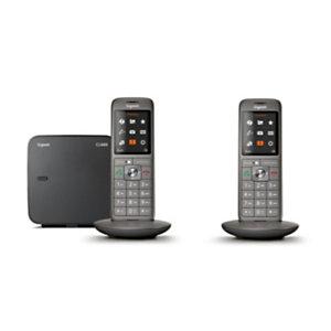Gigaset Téléphone sans fil CL660 Duo - Anthracite