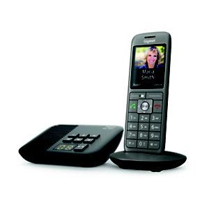 Gigaset Téléphone sans fil CL660A, avec répondeur - Anthracite