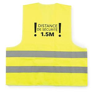 """Gilet de sécurité """"distance de sécurité 1,5 m"""""""