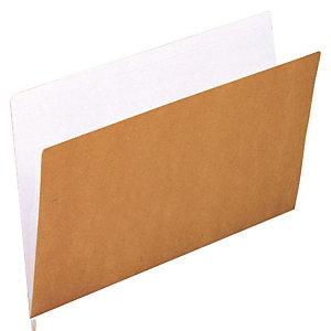 gio by Elba Subcarpeta de cartulina forrada Kraft Folio marrón