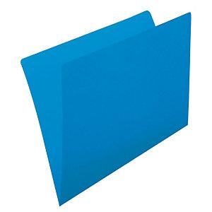 gio by Elba Subcarpeta de cartulina sin forrar Kraft A4 azul