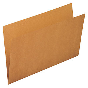 gio by Elba Subcarpeta de cartulina sin forrar Kraft Folio marrón