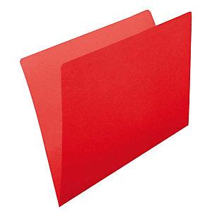 gio by Elba Subcarpeta de cartulina sin forrar Kraft Folio rojo