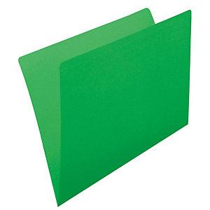 gio by Elba Subcarpeta de cartulina sin forrar Kraft Folio verde