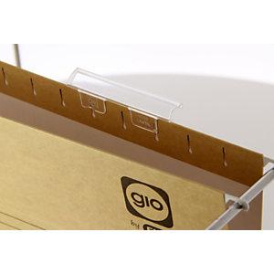 gio by Elba Visor para carpeta colgante de cajón - longitud: 85 mm