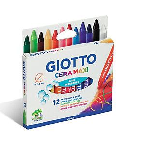 GIOTTO Maxi Gigantes Ceras redondas colores vivos surtidos
