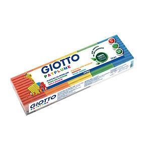 GIOTTO Patplume Plastilina da modellare, 500 g, 10 colori assortiti (confezione 10 pezzi)