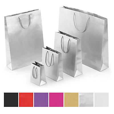 Gloss finish laminated gift bags