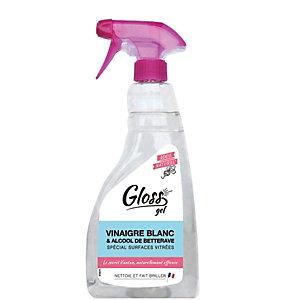 Gloss Nettoyant vitres 100% naturel, spray de 750 ml