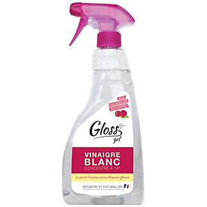 Gloss Vinaigre blanc en gel, parfum framboise, spray de 750 ml