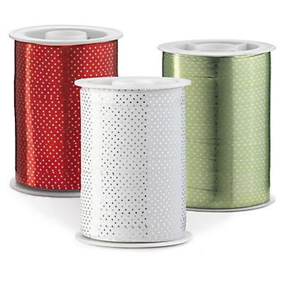 Glossy Dots curling gift ribbon