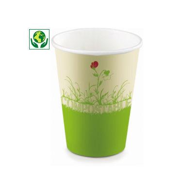 Gobelet carton biosourcé Be Pulp®