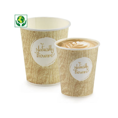 Gobelet carton biosourcé Bioware®