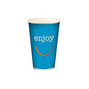 Gobelet en carton ENJOY pour boissons froides, 30 cl colis de 100