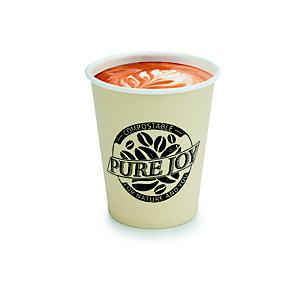 Gobelet jetable en carton biodégradable Pure Joy crème - 20 cl (1000)