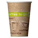 Gobelets Coffee To Go pour boissons chaudes, en Carton, 25 cl, colis de 50