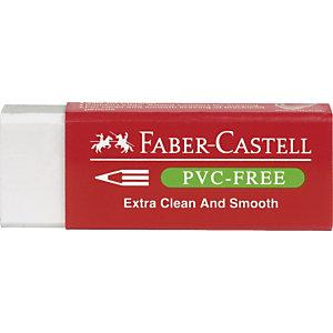Gomma bianca per matita - 7095 Faber Castell - conf. 20 pezzi