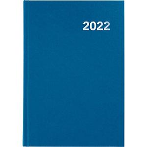 GRAFOPLAS Bretaña Agenda día-página 2022, 145 x 210 mm, castellano, azul