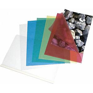 GRAFOPLAS Dossier uñero, A4, polipropileno, rojo