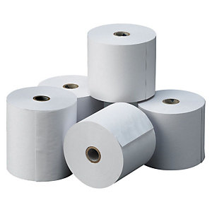 GRAFOPLAS Rollo de papel estándar 70 x 65 x 12 mm 60 gr