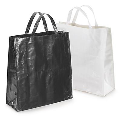 Grand sac en polypropylène tissé##Grote draagtas uit gevlochten polypropyleen