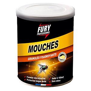 Granulés foudroyants mouches Fury, pot de 400 g