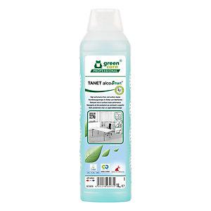 GREEN CARE Detergente per pavimenti e superfici TANET alcoSmart, Flacone 1 l
