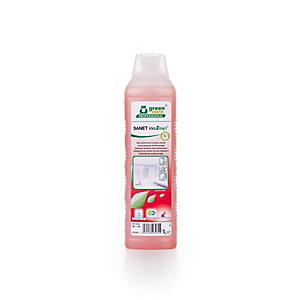 GREEN CARE Detergente per sanitari ad alte prestazioni SANET inoSmart, Flacone 1 l