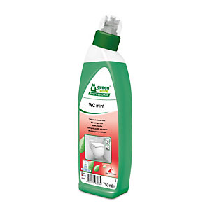 GREEN CARE Detergente per WC alla menta WC mint, Flacone 750 ml