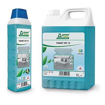 Green Care nettoyant pour sol avec alcool concentré##Green Care Allzweckreiniger mit konzentriertem Alkohol