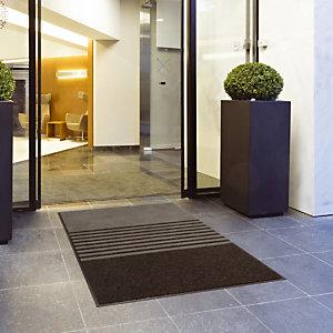Grijs tapijt 3 in 1 TRINITY 0,90 m x 1,50 m