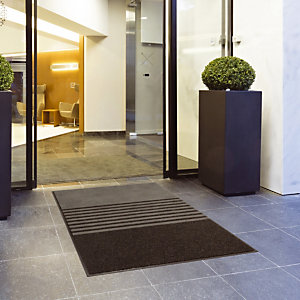 Grijs tapijt 3 in 1 TRINITY 1,20 m x 1,90 m
