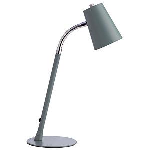 Grijsblauwe Led-lamp Flexio 2