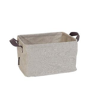 Grijze opvouwbare wasmand Brabantia 35 L
