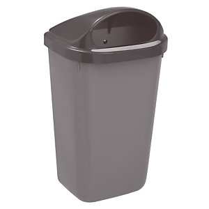 Grijze vuilnisbak Rossignol 50 L