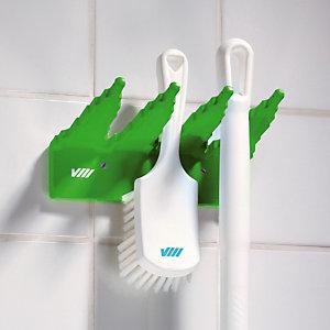 Groene muursteun voor stoffer Vikan