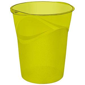 Groene papiermand Happy 14 L