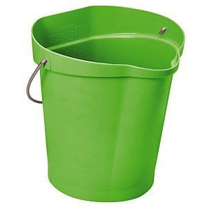 Groene voedingswaardige emmer Vikan 12 L
