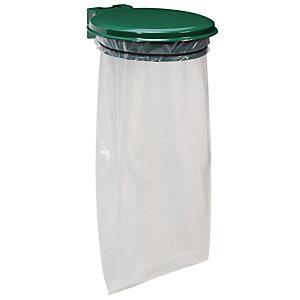Groene  zakhouder Rossignol 110 L met deksel