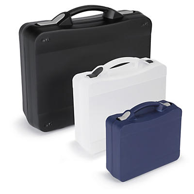 Grossvolumige Kunststoffkoffer