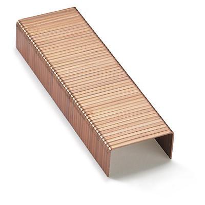 Hæfteklammer i kobber
