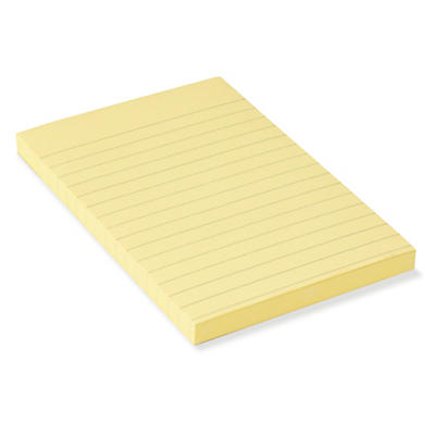 Notes Post-it ligné##Haftnotizen Post-it liniert