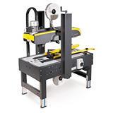 Halbautomatische Kartonverschließmaschine mit manueller Formateinstellung